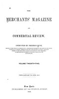 Hunt s Merchants  Magazine and Commercial Review PDF