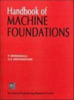 Handbook of Machine Foundations