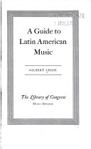A Guide to Latin American Music