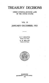Treasury Decisions Under Internal Revenue Laws of the United States: Volume 3112, Issue 3267