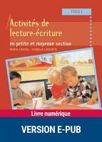 Activit  s de lecture   criture en petite et moyenne section PDF