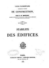 Cours élémentaire, théorique et pratique, de construction: Volume4