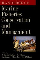 Handbook of Marine Fisheries Conservation and Management PDF