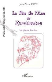 La fête de l'Ane de Zarathustra