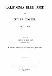 California Blue Book PDF