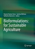 Bioformulations  for Sustainable Agriculture PDF