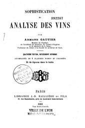 Sophistication et analyse des vins