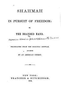 Shahmah in Pursuit of Freedom PDF