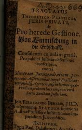 Tractatus Theoretico-Practicus juris privati de pro herede gestione