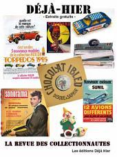 Déjà Hier, échantillon gratuit - 88 pages: La revue des collectionnautes
