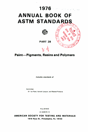 Book of ASTM Standards  with Related Material PDF
