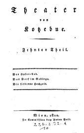 Theater von Kotzebue: Volume 10