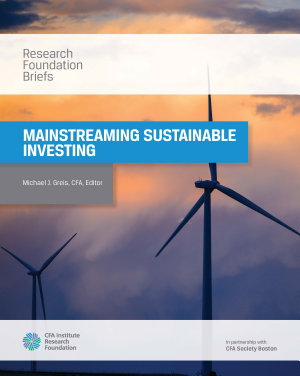 Mainstreaming Sustainable Investing