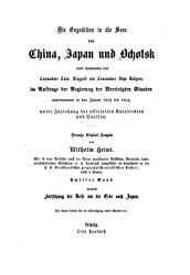 Die Expedition in die Seen von China  Japan und Ochotsk unter Commando von Commodore Calw  Ringgold und Commodore John Rudgers0 PDF