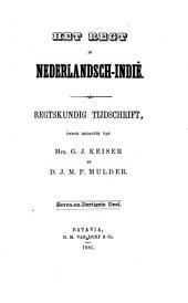 Indisch tijdschrift van het recht: orgaan der Nederlandsch-Indische juristen-vereeniging, Volume 37