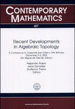 Recent Developments in Algebraic Topology