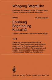 Statistische Erklärungen. Deduktiv-nomologische Erklärungen in präzisen Modellsprachen Offene Probleme: Ausgabe 2