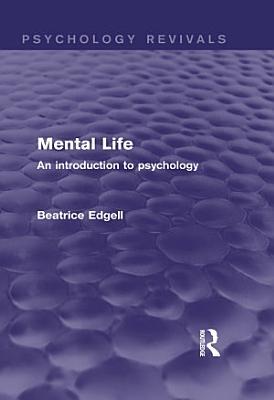 Mental Life  Psychology Revivals