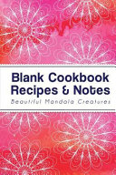 Blank Cookbook Recipes   Notes Book