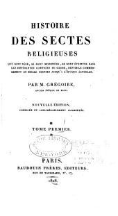 Histoire des sectes religieuses
