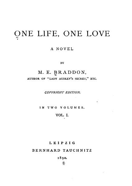 Download One Life  One Love Book