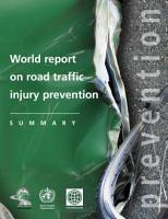 World Report on Road Traffic Injury Prevention PDF