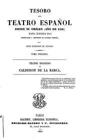 Tesoro del teatro español: desde su origen (año de 1356) hasta nuestros días, Volumen 3