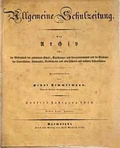 Allgemeine Schulzeitung PDF