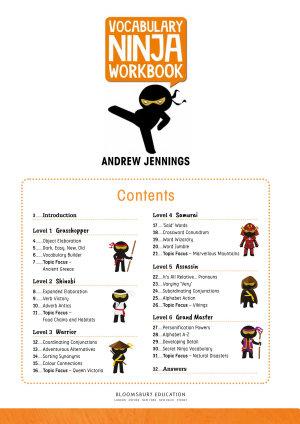 Vocabulary Ninja Workbook for Ages 9-10