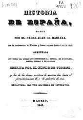 Historia general de España: Volúmenes 5-6