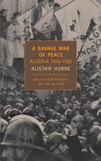 A Savage War of Peace PDF