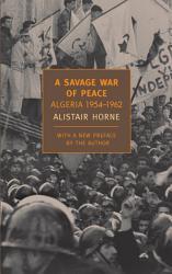 A Savage War Of Peace Book PDF