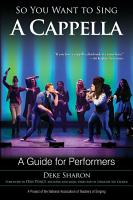 So You Want to Sing A Cappella PDF