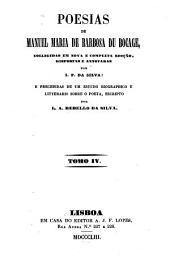 Poesias: Volume 4