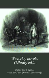Waverley novels. (Library ed.).