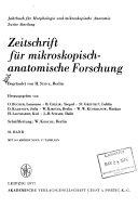 Download Zeitschrift f  r mikroskopisch anatomische Forschung Book