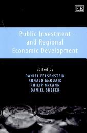 Public Investment and Regional Economic Development