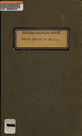 Public Markets in the United States: Second Report of a Committee of the National Municipal League. Figures Revised to March 15, 1917