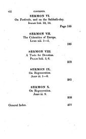 Sermons Translated from the Original French of the Late Rev. James Saurin, Pastor of the French Church at the Hague: On various subjects: with a general index