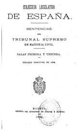 Sentencias del Tribunal Supremo en materia civil