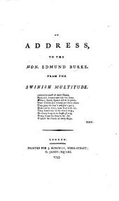 An Address to the Hon. Edmund Burke from the Swinish Multitude