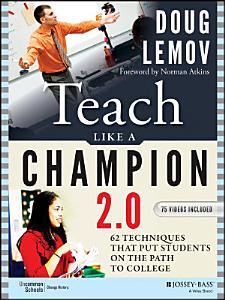 Teach Like a Champion 2 0 Book
