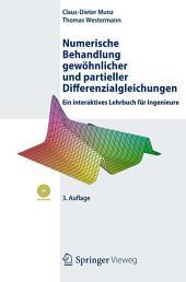 Numerische Behandlung gewöhnlicher und partieller Differenzialgleichungen: Ein interaktives Lehrbuch für Ingenieure, Ausgabe 3