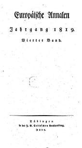 Europäische Annalen: 1819, 4