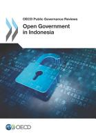 OECD Public Governance Reviews Open Government in Indonesia PDF