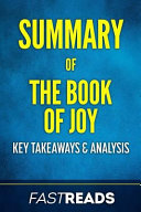Summary of the Book of Joy Book