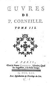Œuvres de P. Corneille: L'illusion comique. Médée. Le Cid. Sémiramis