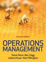 EBOOK  Operations Management 2 e PDF