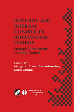 Integrity and Internal Control in Information Systems PDF