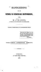Handleiding tot het wetboek van burgerlijke regtsvordering